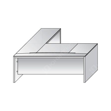 Письменный стол с правой боковой приставкой