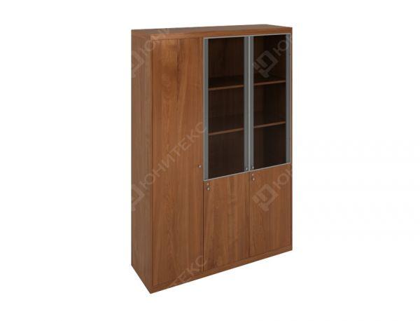 Высокий комбинированный шкаф + узкий глухой гардероб