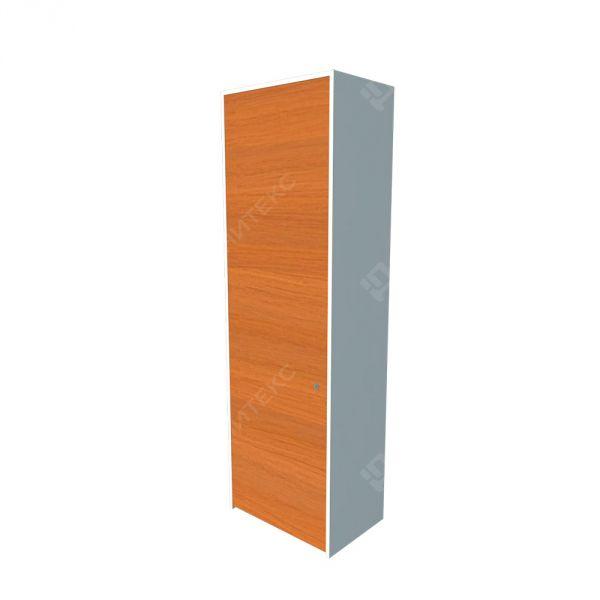 Шкаф высокий узкий закрытый