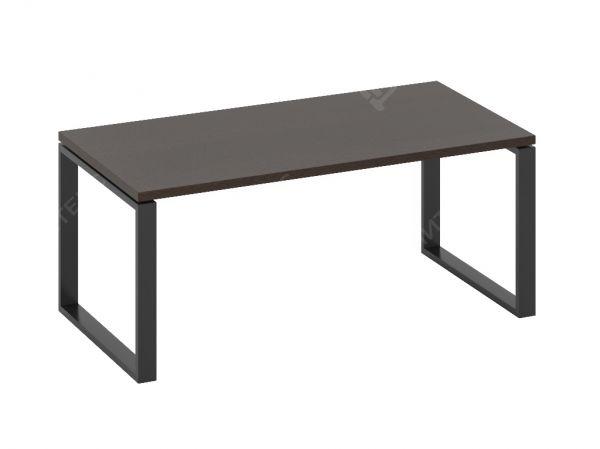 Кабинетный стол письменный на металлических опорах