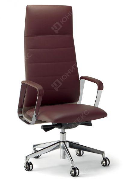 ODIREA02 Кресло для руководителя с высокой спинкой в дереве