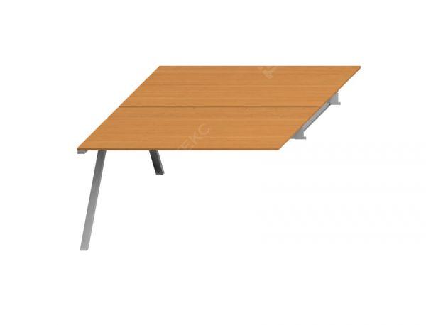 Двойной стол приставной