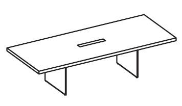 Стол переговорный прямоугольный