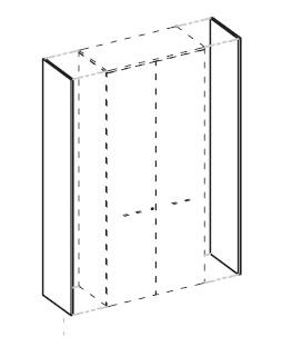 Панели боковые высокие (пара)