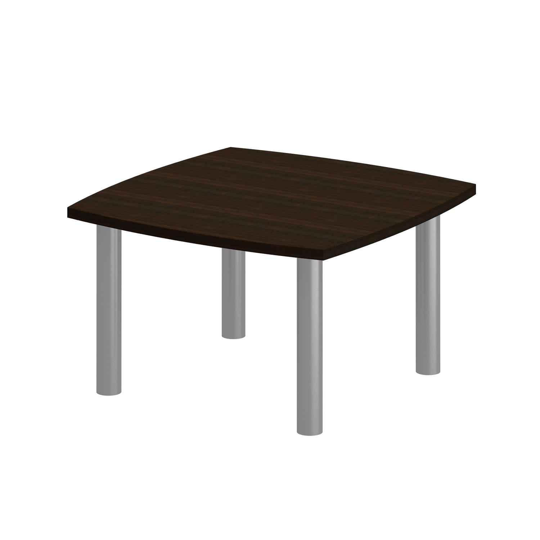 Стол для переговоров на металлических опорах