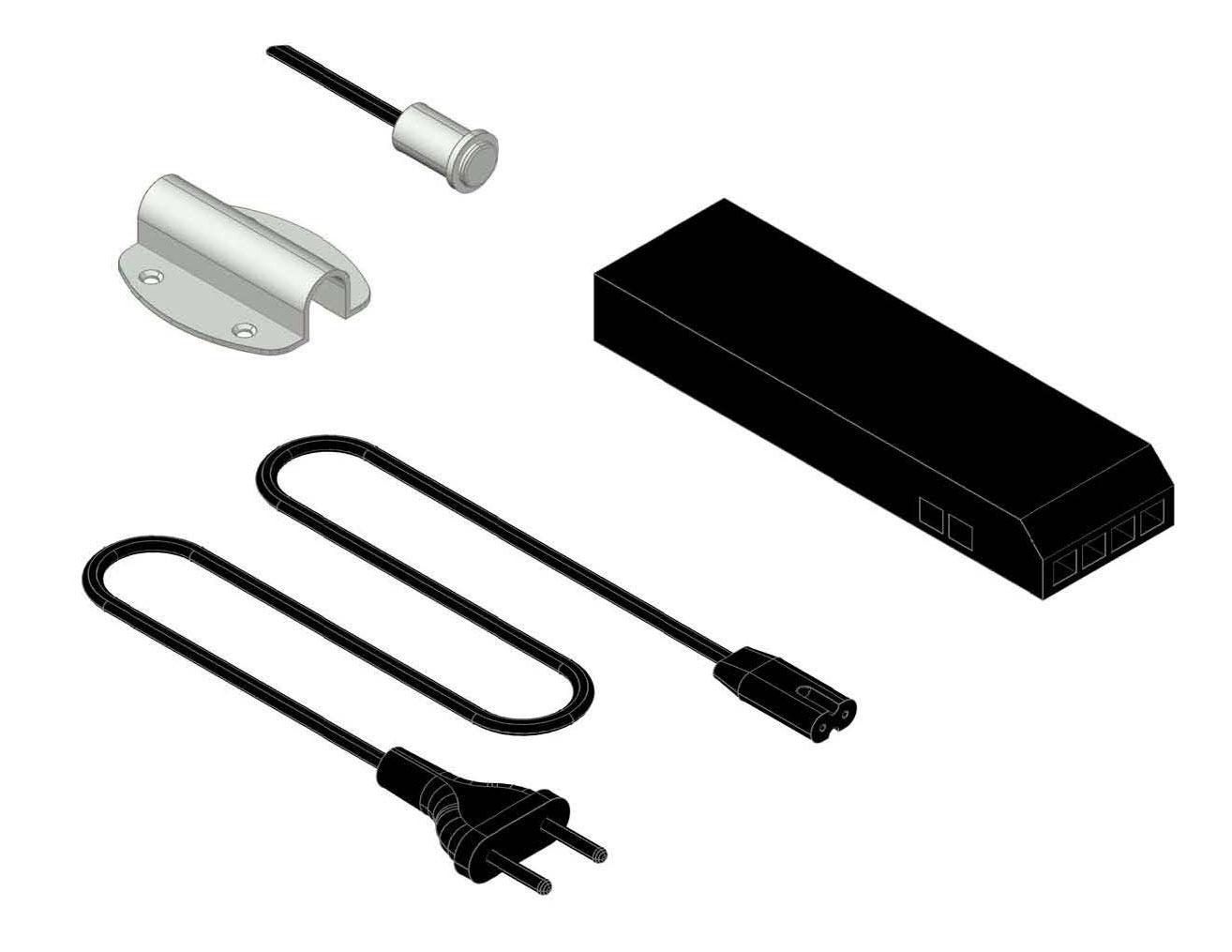 Блок питания (30 Вт) для подсветки с выключателем