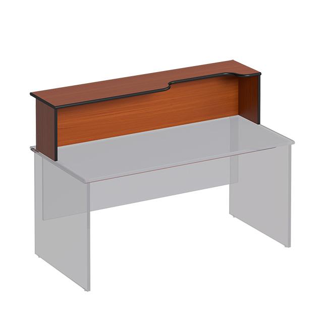 Надстройка к столу с вырезом правая