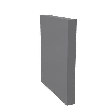Боковая панель верхняя для низкого модуля правая