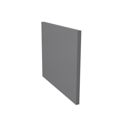 Боковая панель нижняя для низкого модуля правая