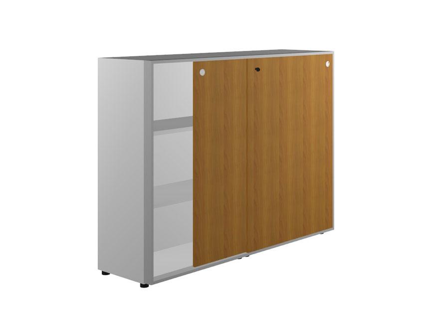 Шкаф средний двери-купе