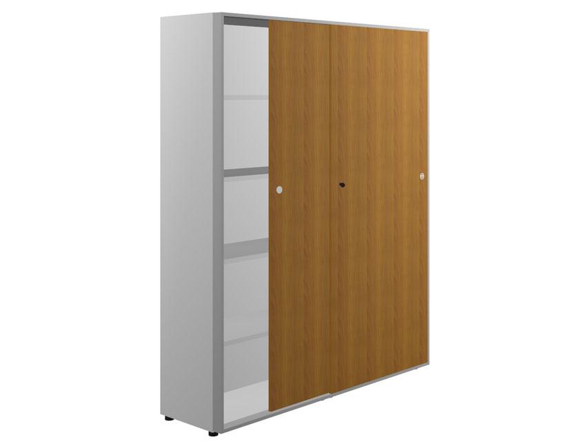 Шкаф высокий двери-купе