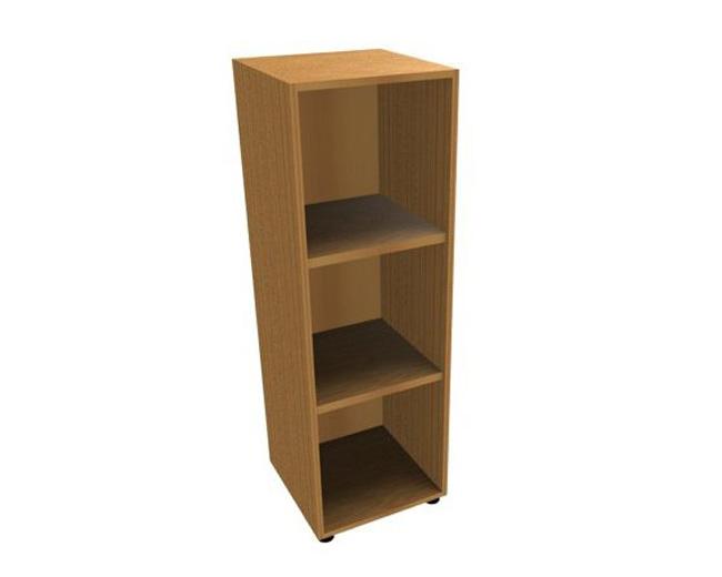 Шкаф средний узкий открытый