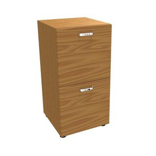 Шкаф узкий, 2 ящика для файлов