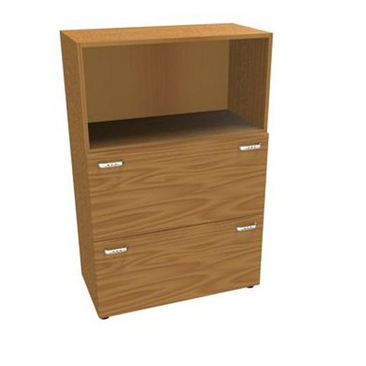 Шкаф средний, 2 ящика для файлов