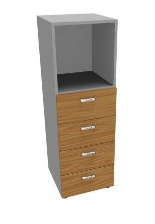 Шкаф средний, 4 ящика