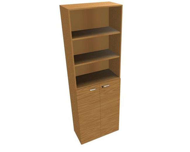 Шкаф высокий низ закрытый верх открытый