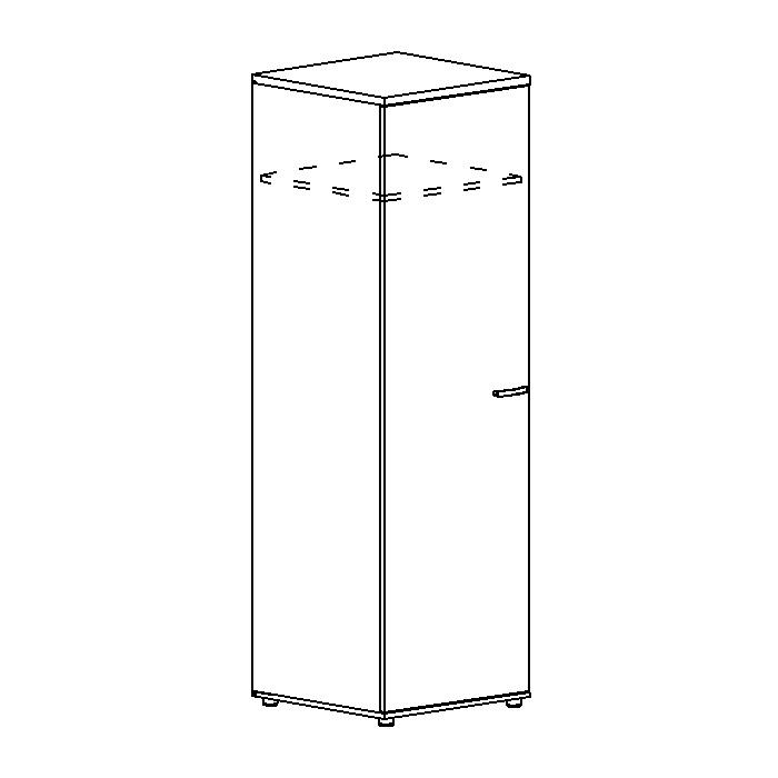 Шкаф для одежды глубокий узкий