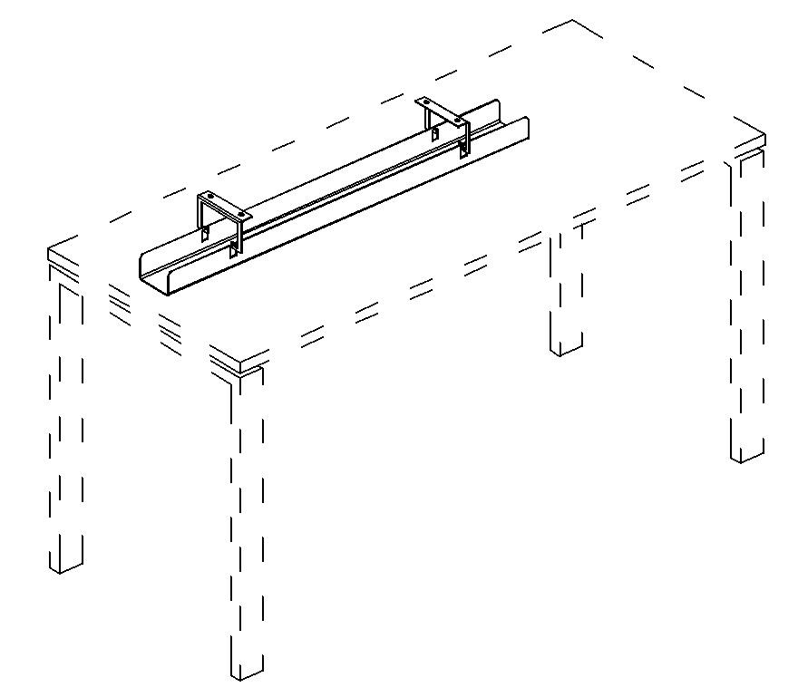 Кабель-канал горизонтальный