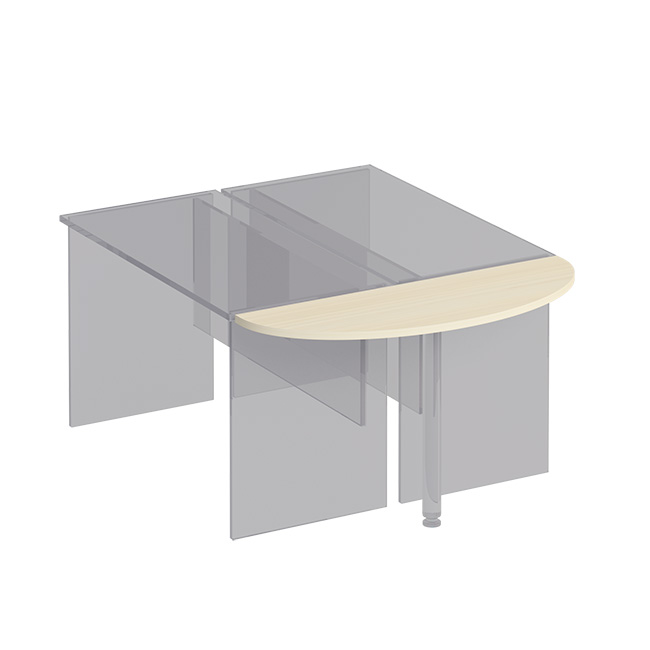 Приставка к столу без опоры
