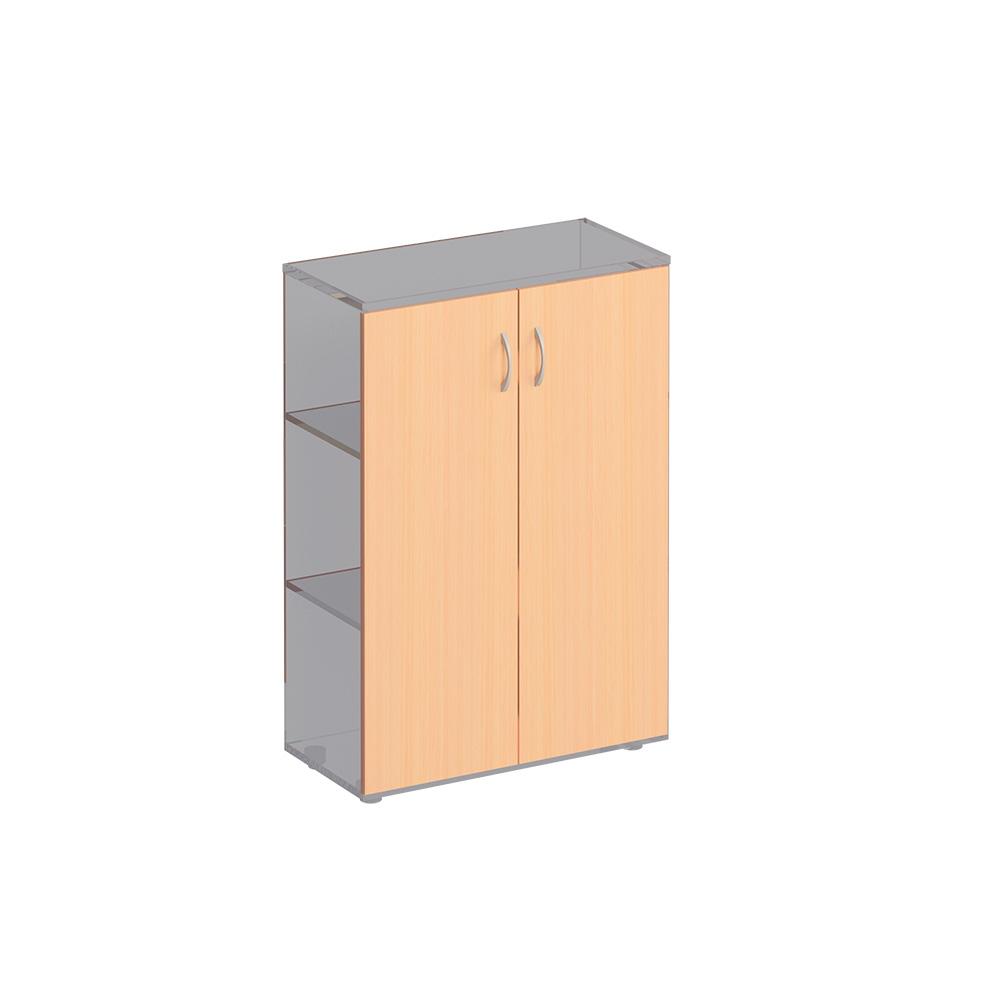 Двери деревянные средние (2шт.)
