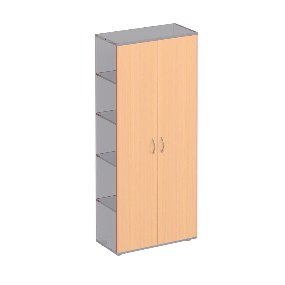 Двери деревянные высокие (2шт)