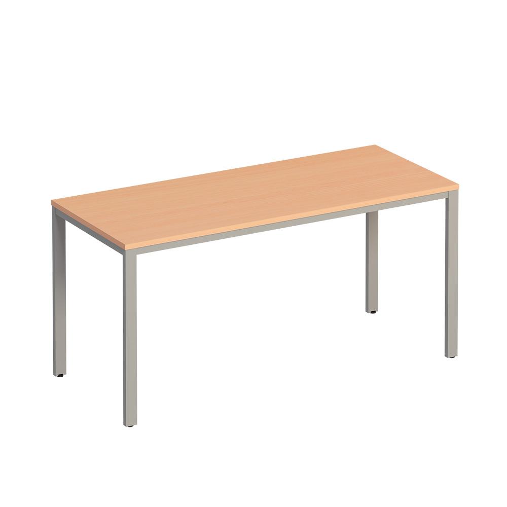 Стол письменный на металлокаркасе МП2