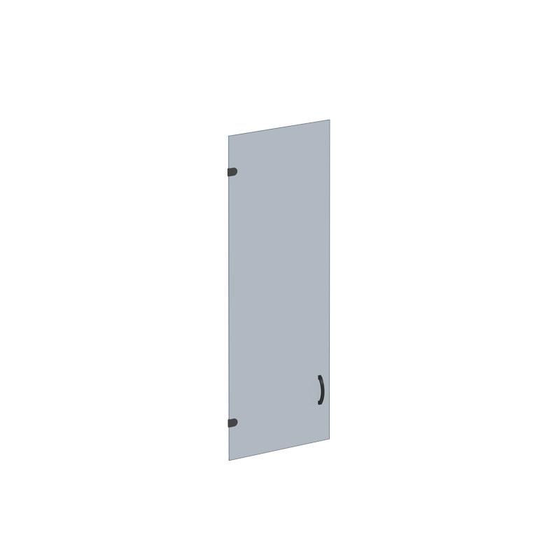 Дверь стеклянная с фурнитурой