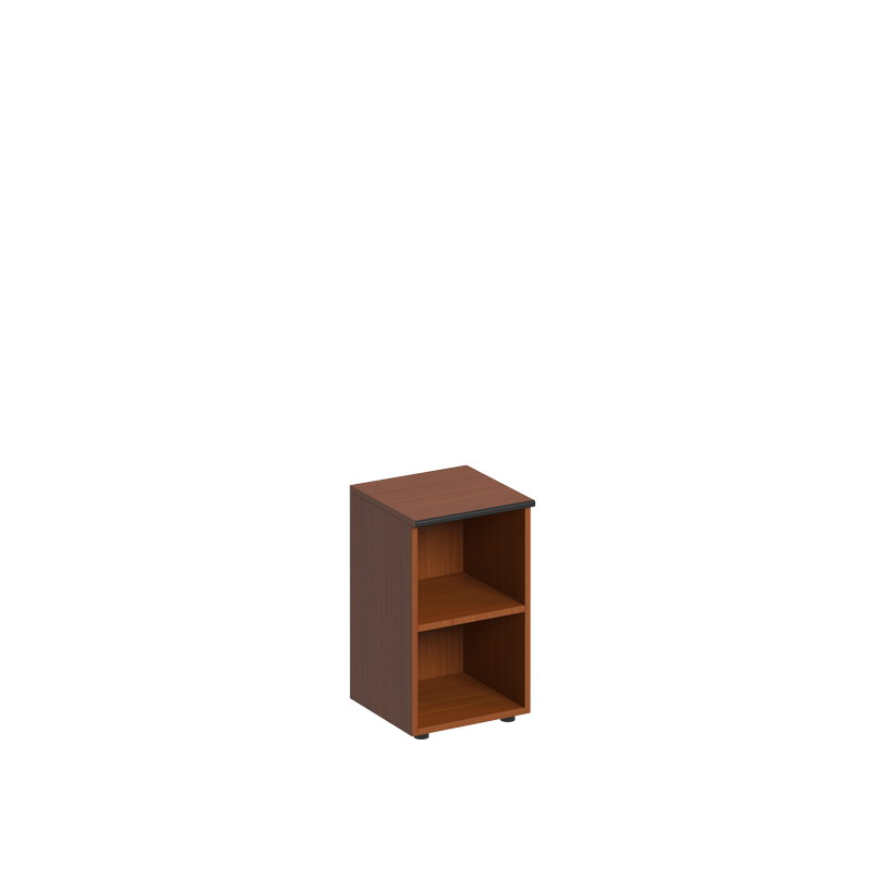 Шкаф низкий узкий открытый