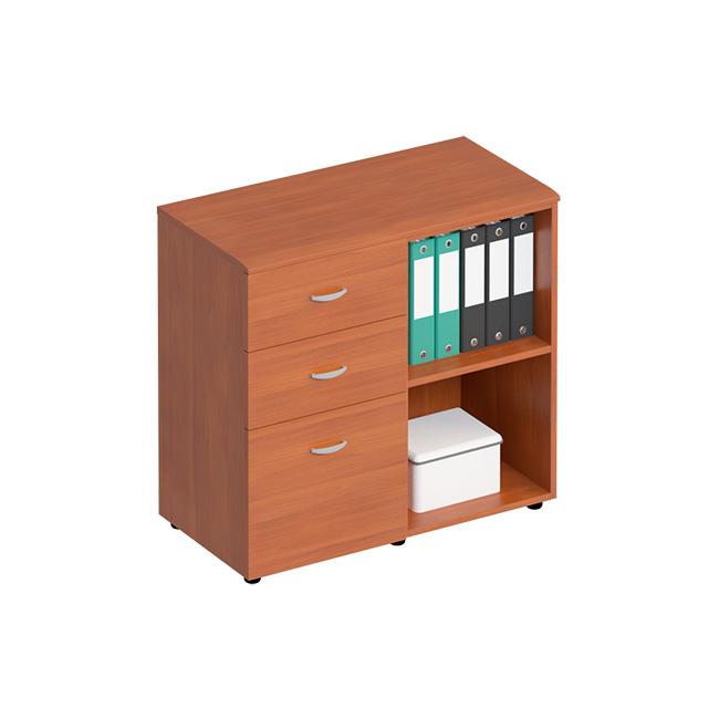 Шкаф с ящиками комбинированный