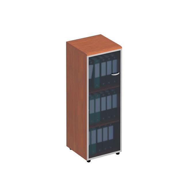 Шкаф для документов со стеклянной дверью левый