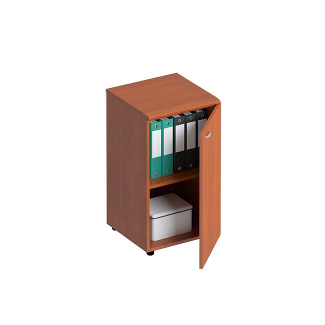 Шкаф для документов узкий низкий закрытый