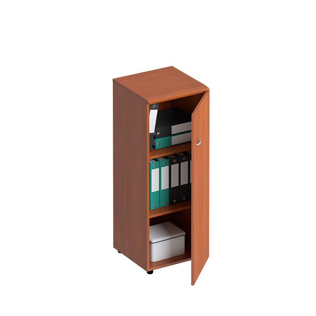 Шкаф для документов средний узкий закрытый