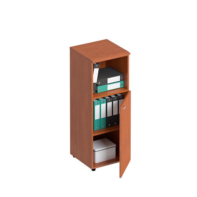 Шкаф для документов средний узкий полузакрытый