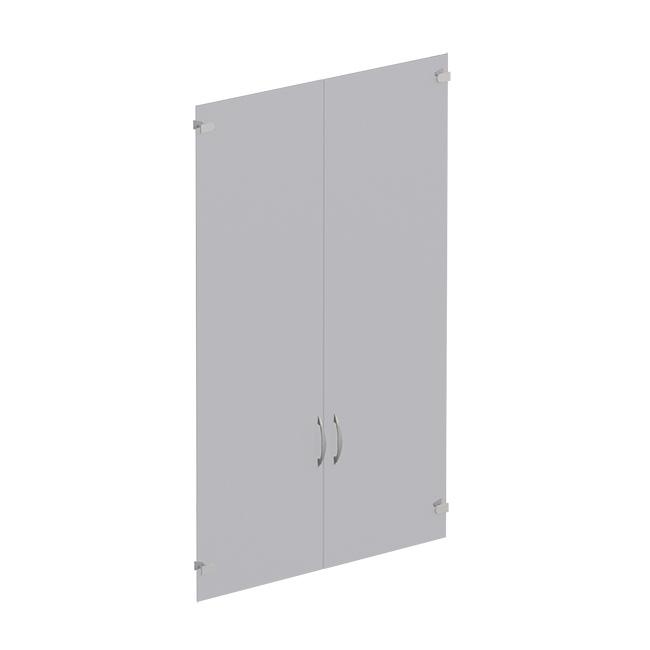 Двери стеклянные (комплект - 2 шт.)