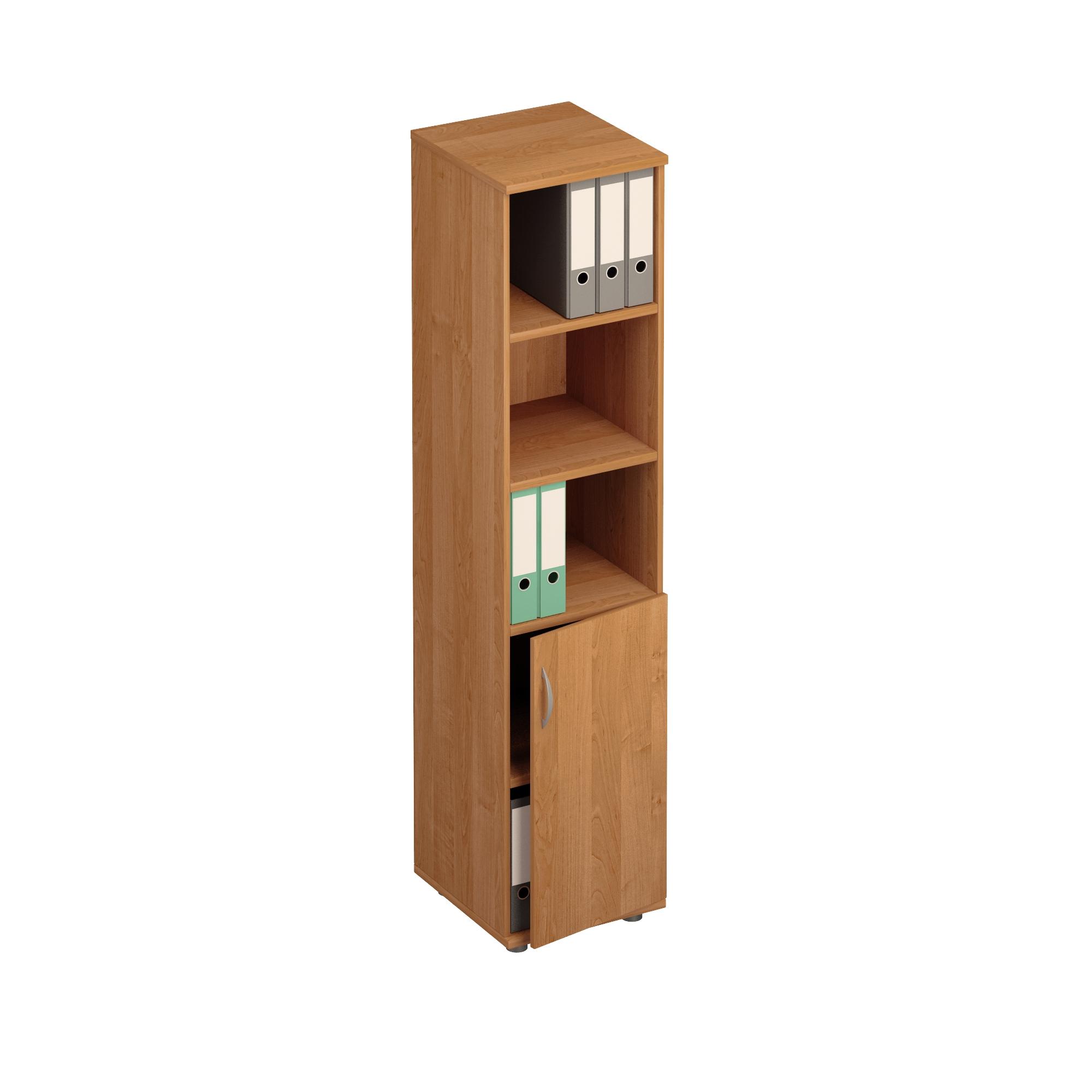 Шкаф для документов узкий открытый