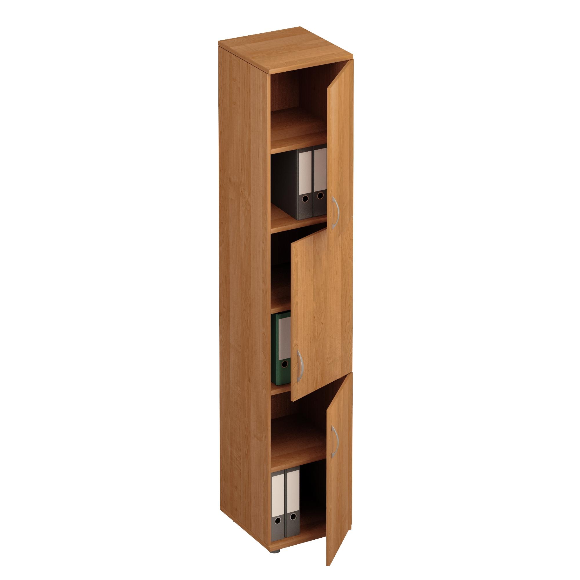 Шкаф для документов 3-дверный узкий