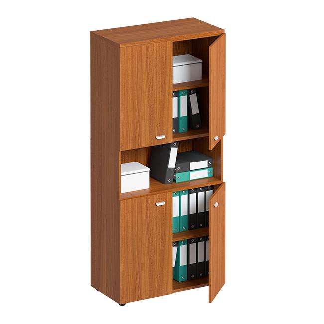 Шкаф для документов высокий с нишей