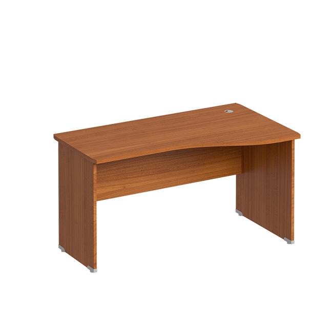 Офисный стол правый (каркас ДСП)