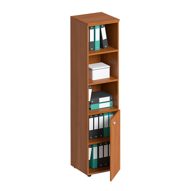 Шкаф для документов полузакрытый узкий