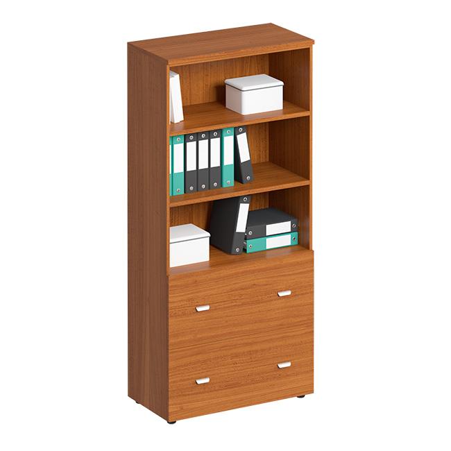 Шкаф для документов с ящиками высокий, с файлами подвесного хранения
