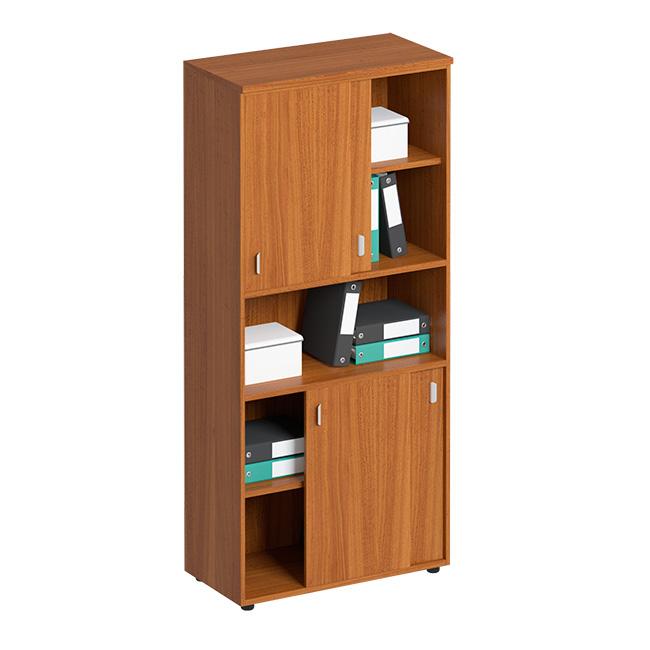 Шкаф-купе для документов высокий с нишей