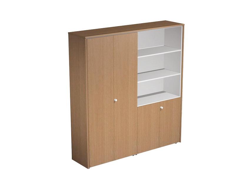 Шкаф комбинированный (одежда-документы)