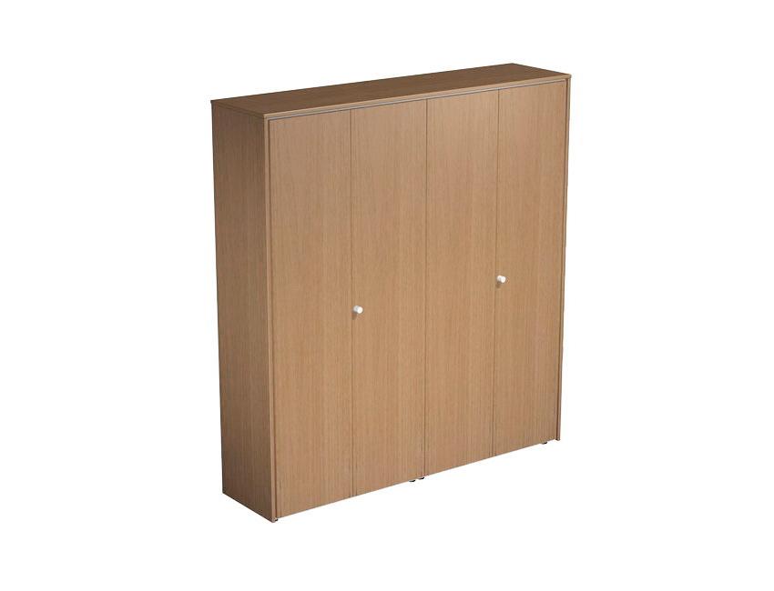 Шкаф комбинированный закрытый (одежда-документы)