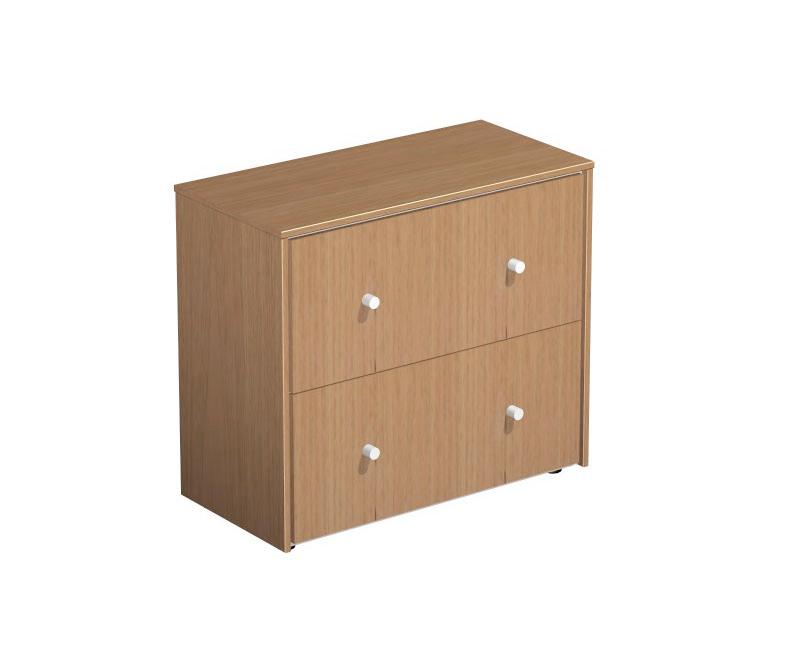 Шкаф для документов с файловыми ящиками