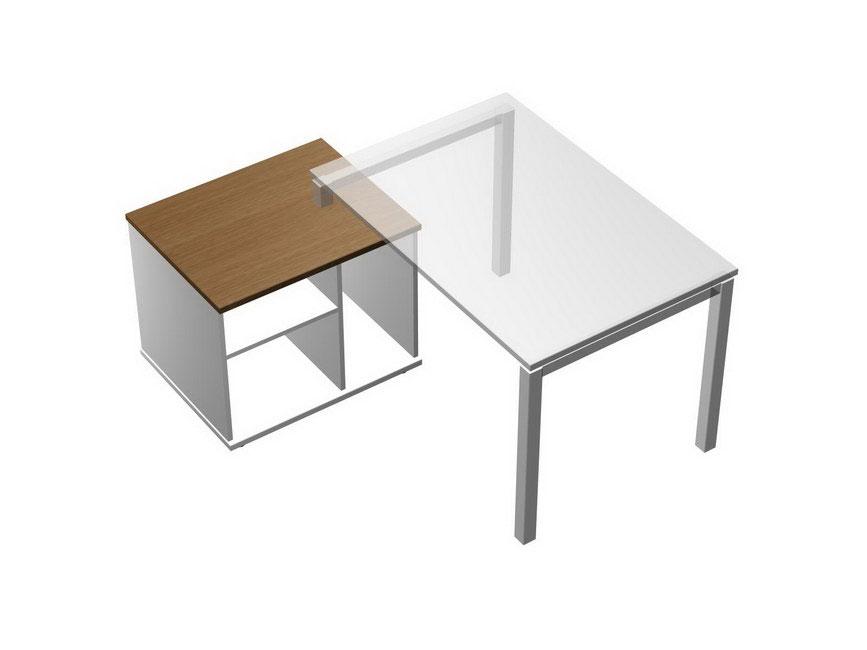 Тумба опорная стола