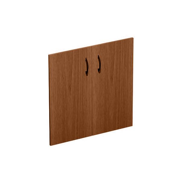 Дверь деревянная низкая комплект 2 шт