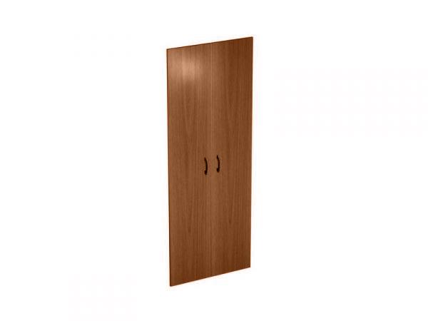 Дверь деревянная высокая комплект 2 шт