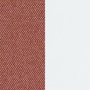 tetra rust / металлокаркас белый