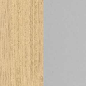 натуральный дуб / металлокаркас серый